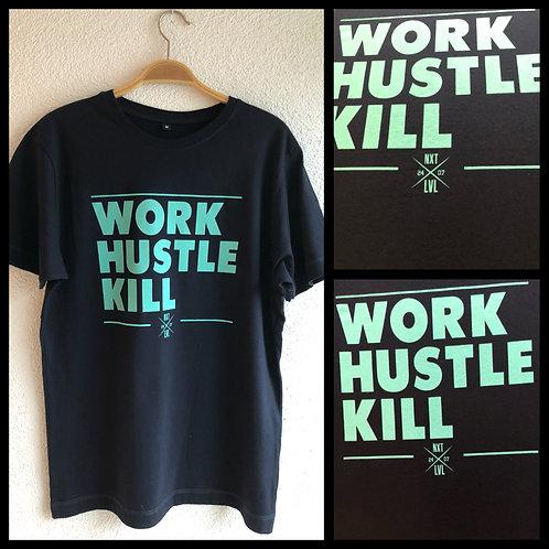 "Fellas ""Work Hustle Kill"" T-Shirt Regular Fit"
