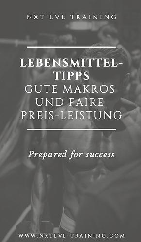 PDF Lebensmittel-Tipps