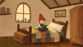 Red Jr's Bedroom