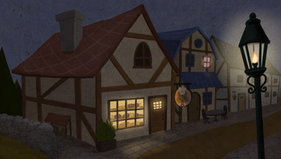 Bakery at Night
