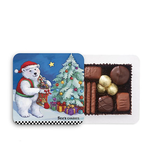 See's Candies Winter Wonderland Gift Box 4oz.