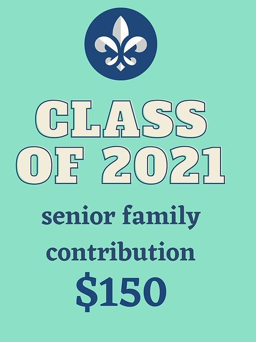 Senior Family Contribution $150