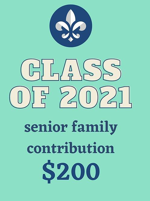 Senior Family Contribution $200