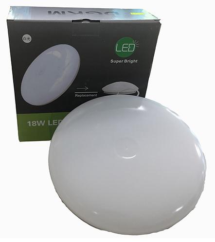 18瓦飛碟燈 (白光/黄光)     18W Circular Light (Cold/ Warm Light)