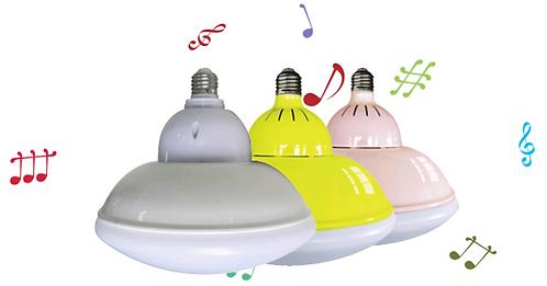 9瓦藍牙音樂燈 (白光及黃光可隨意切換)          9W Bluetooth Music Light (Cold Light & Warm Light)