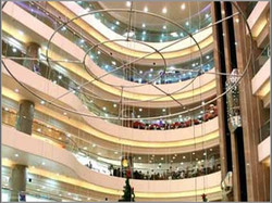 香港荷里活廣場工程案例