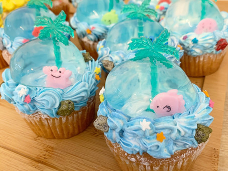 夏限定カップケーキ