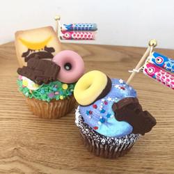 子供の日限定カップケーキ