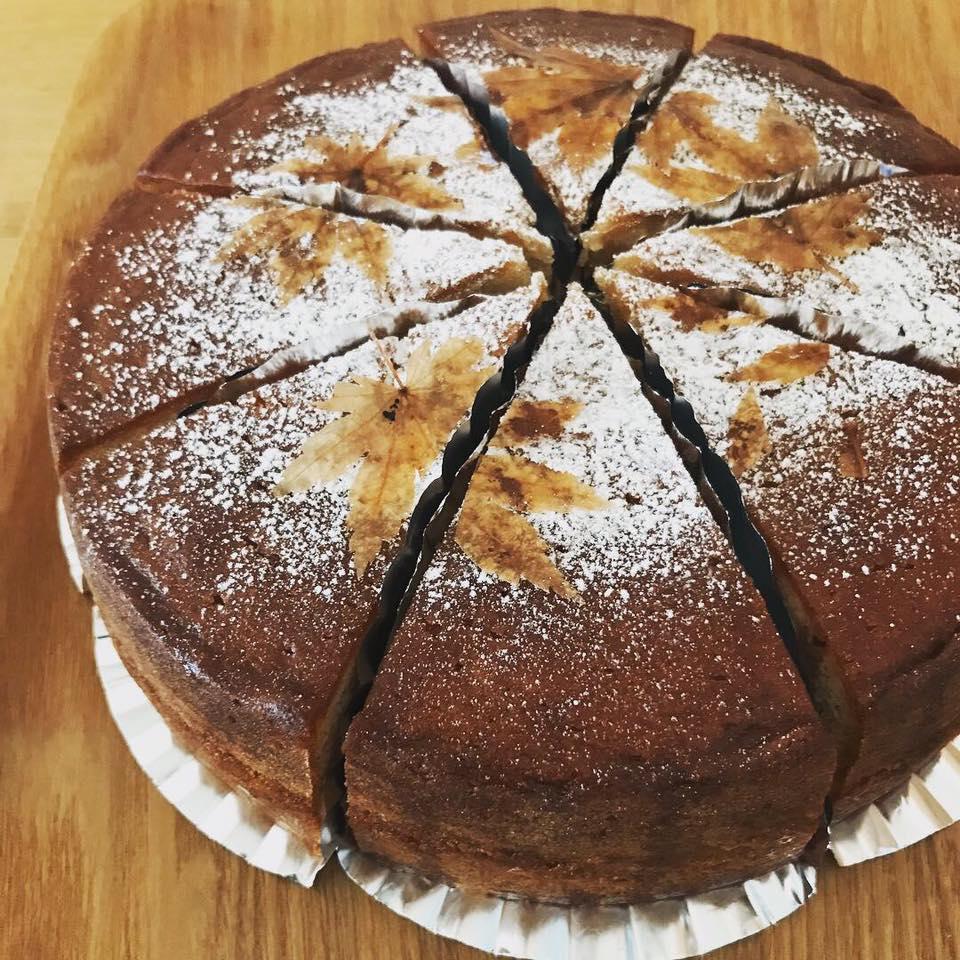 もみじのバターケーキ