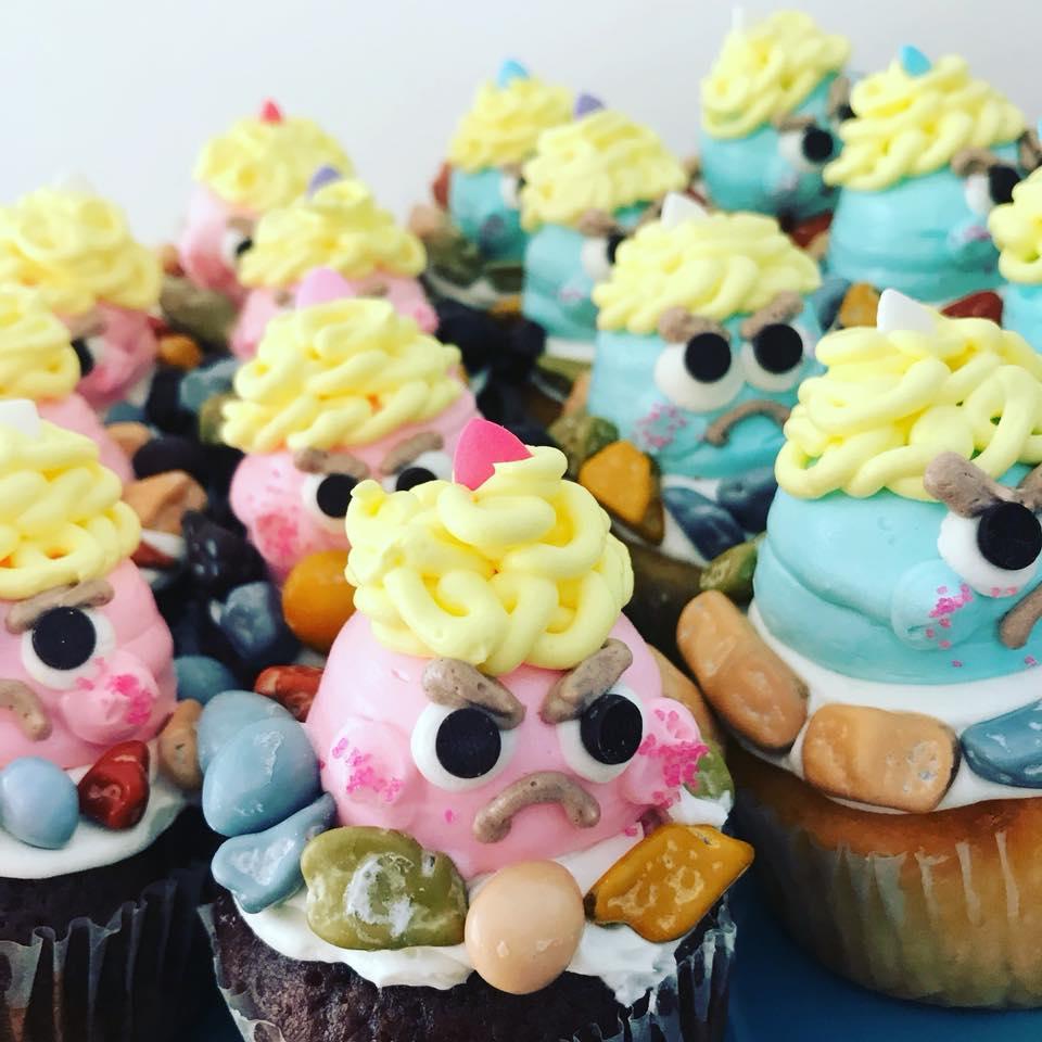 鬼ヶ島カップケーキ