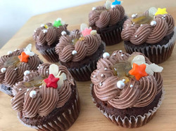 柚子さんしょうショコラカップケーキ