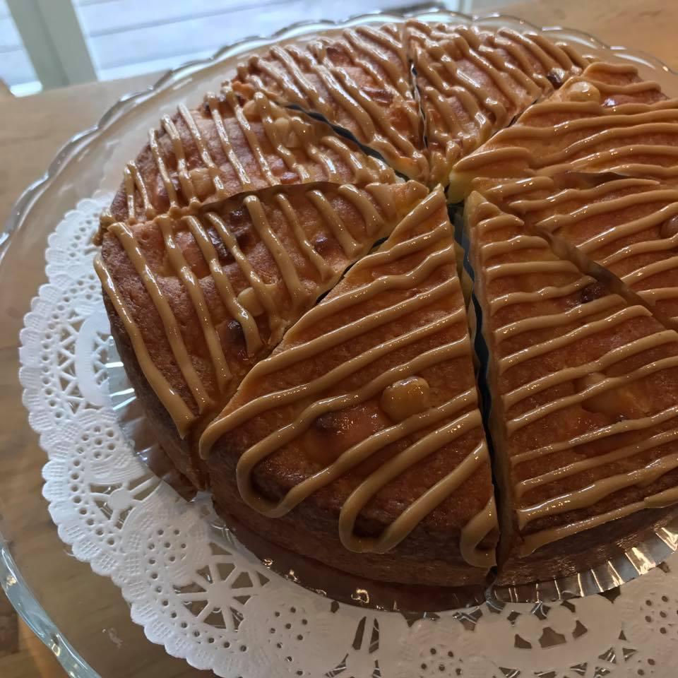 ヘーゼルナッツバターケーキ