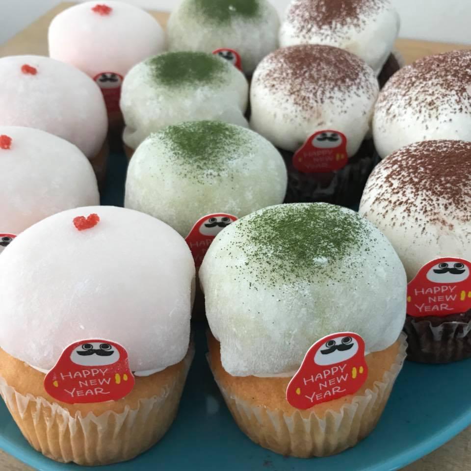クリーム大福カップケーキ