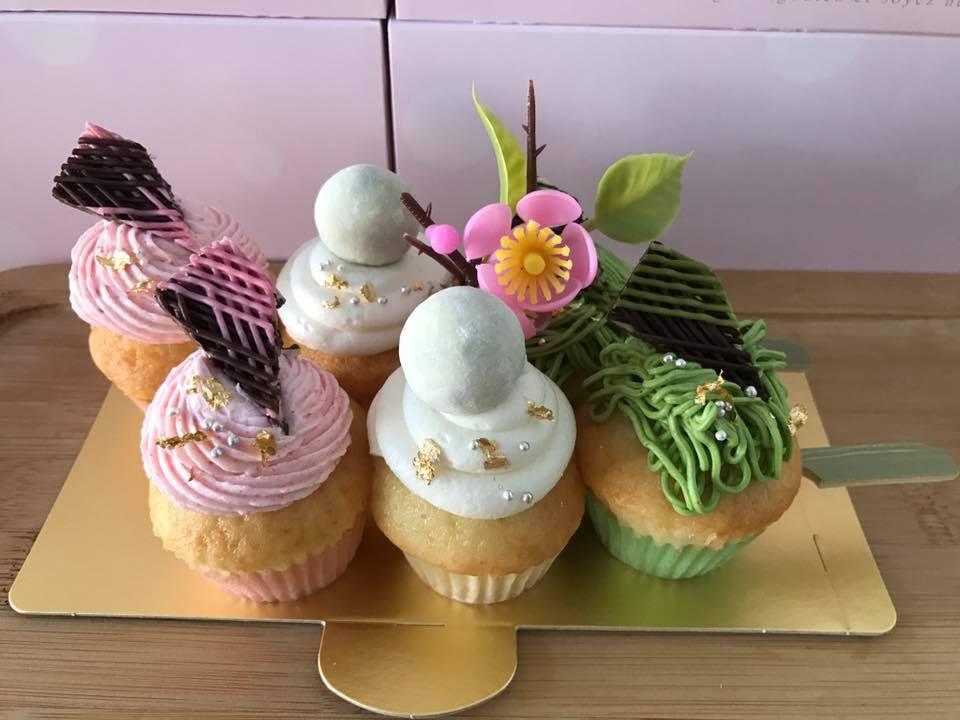 ひな団子カップケーキ