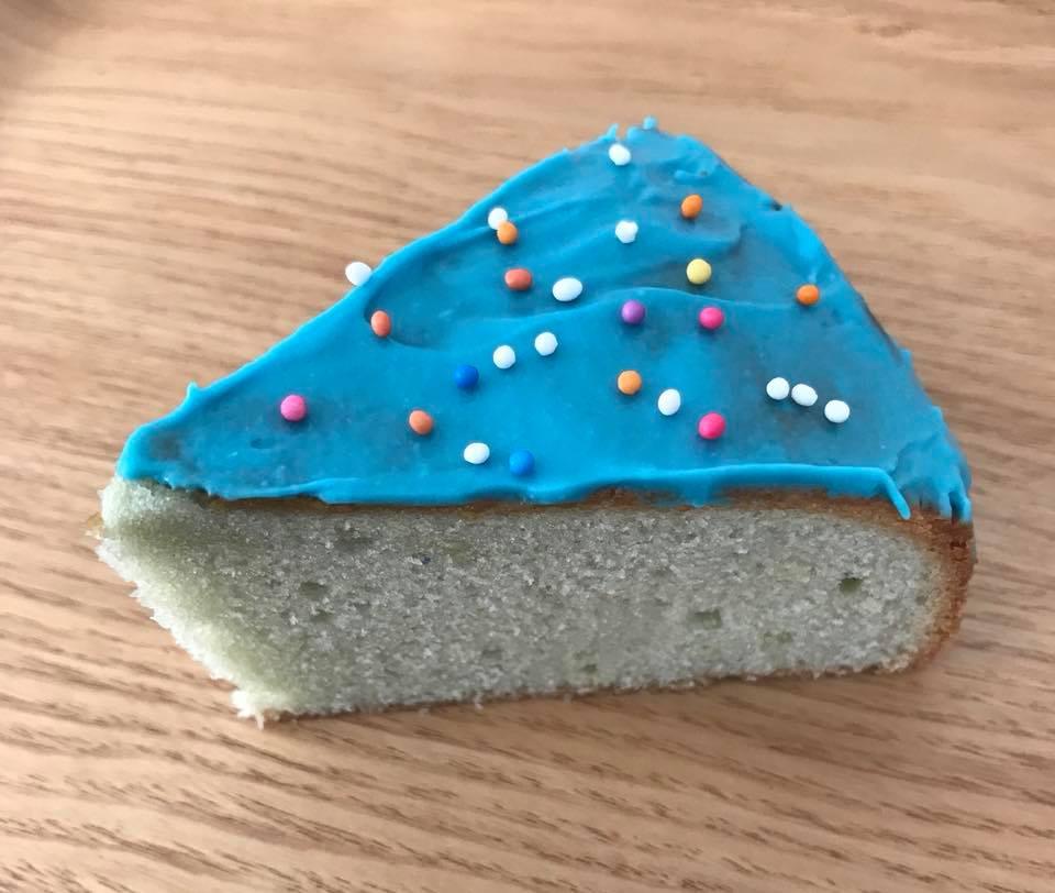 スピルリナバターケーキ