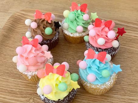 新作カップケーキ