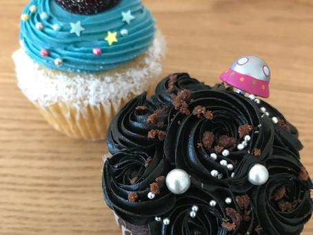 七夕のカップケーキ