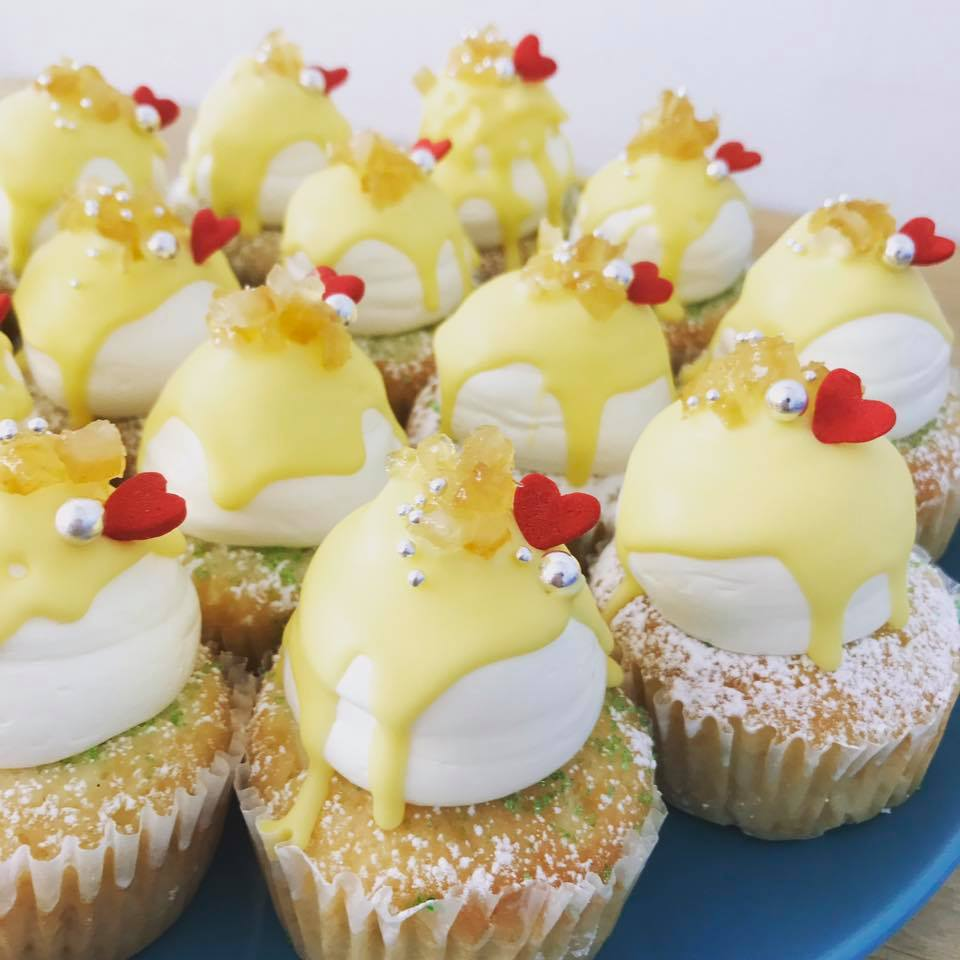 メルティ―レモンカップケーキ