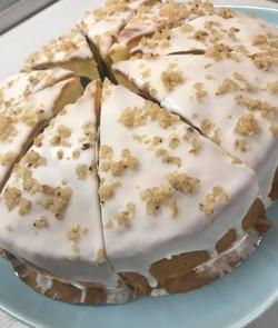 マカダミアナッツバターケーキ