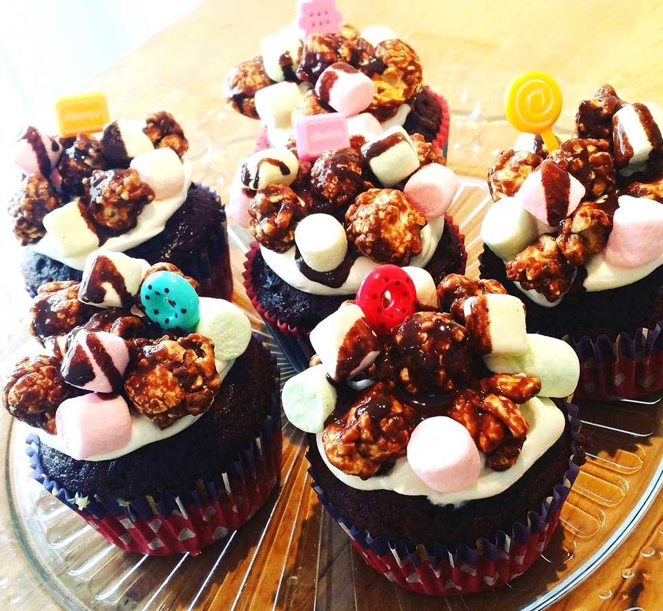 ロッキーマウンテンカップケーキ チョコレート