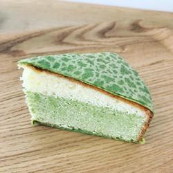 抹茶ミルフィーユバターケーキ