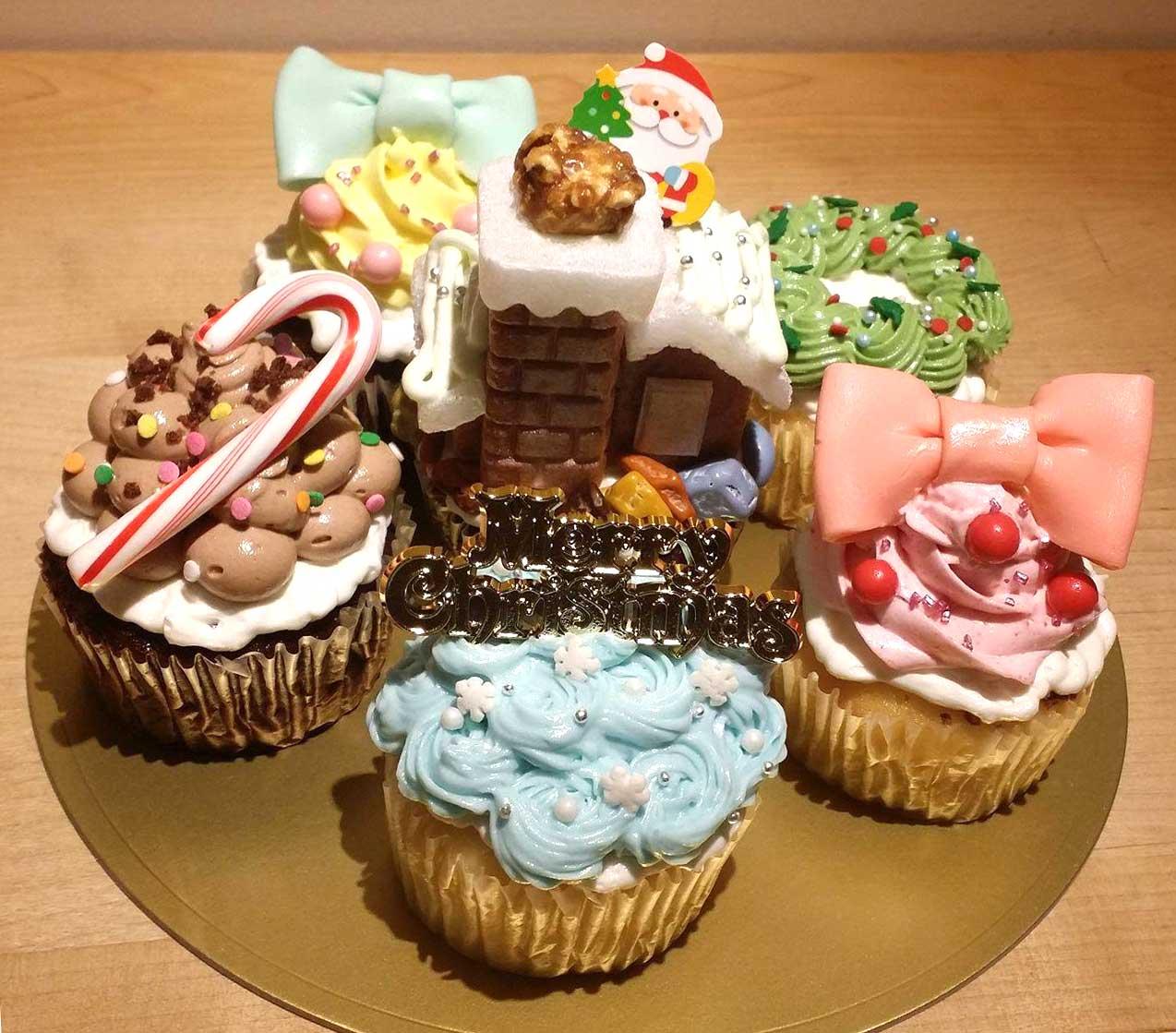 2016クリスマスカップケーキセット
