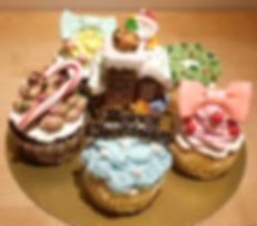 2016 クリスマスカップケーキセット