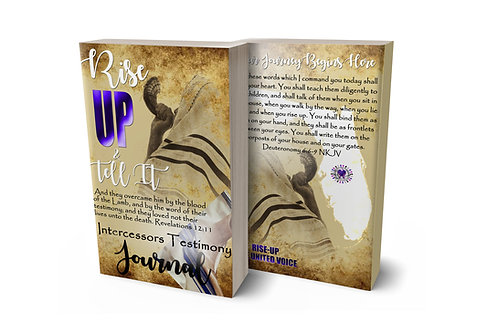 Rise Up & Tell It - Intercessors Testimony Journal