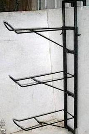 Triple Saddle Rack with height extension