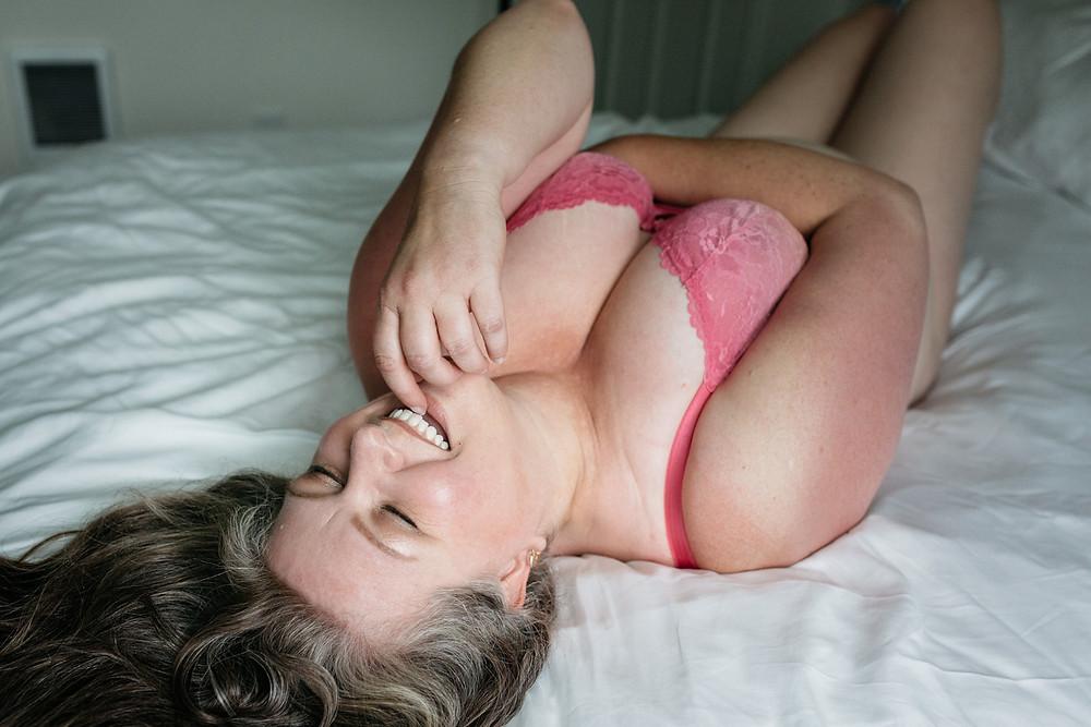pink panty set mature boudoir portland or