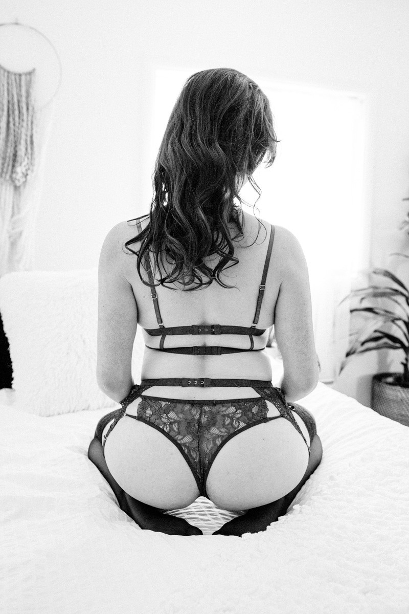 portland or garter belt lingerie boudoir