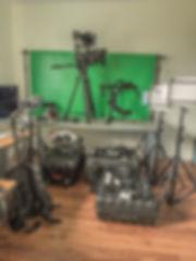 Matériels pour tournage VDC-Prod