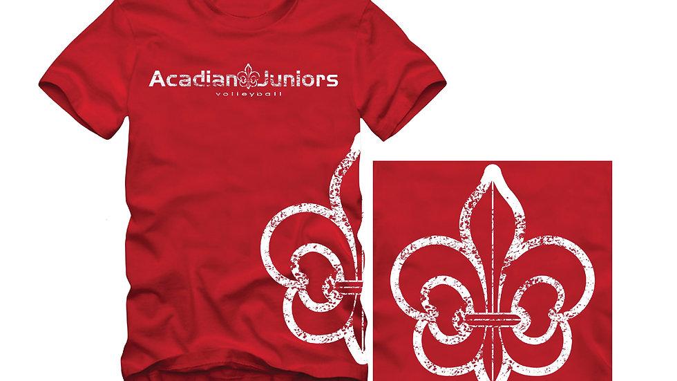 AJ Fleur De Lis - Short Sleeve T-Shirt