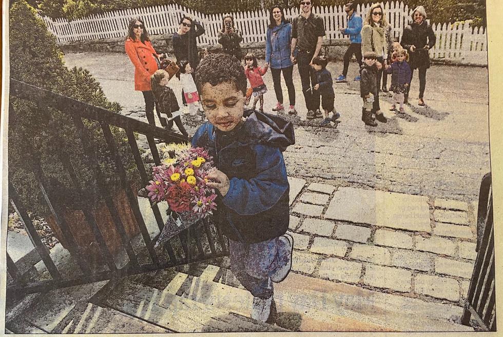 A Calvary Tradition: May Day in Stonington Borough