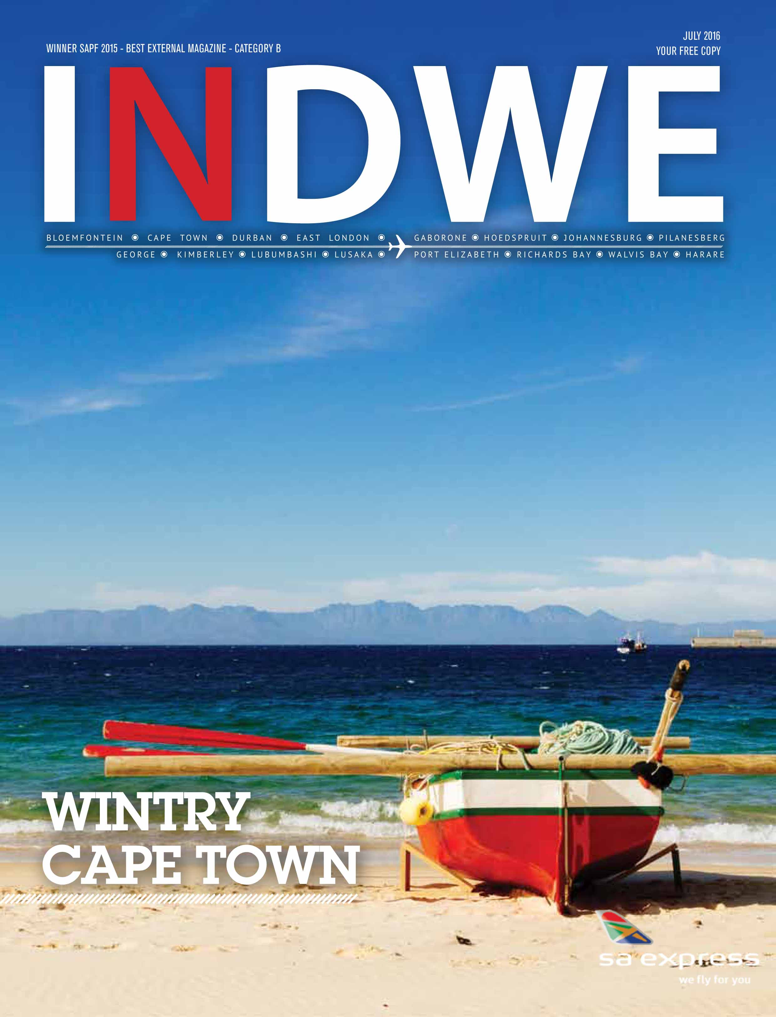 Indwe, July 2016