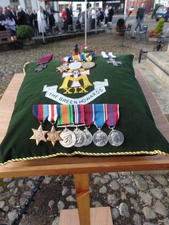 Commemoration To Honour Captain Archie White VC.Boroughbridge 060