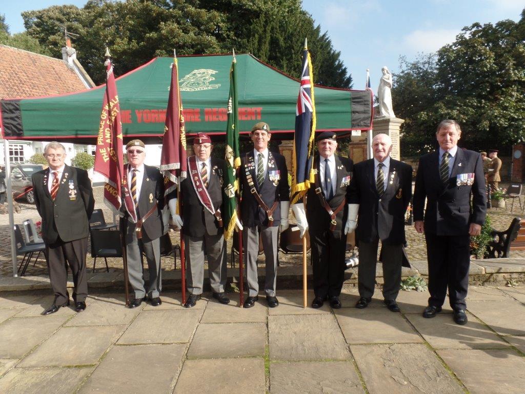 Commemoration To Honour Captain Archie White VC.Boroughbridge 016