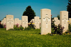 Day 2 Normandy Bayeaux CWG Cemetery 04