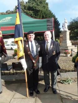 Commemoration To Honour Captain Archie White VC.Boroughbridge 020