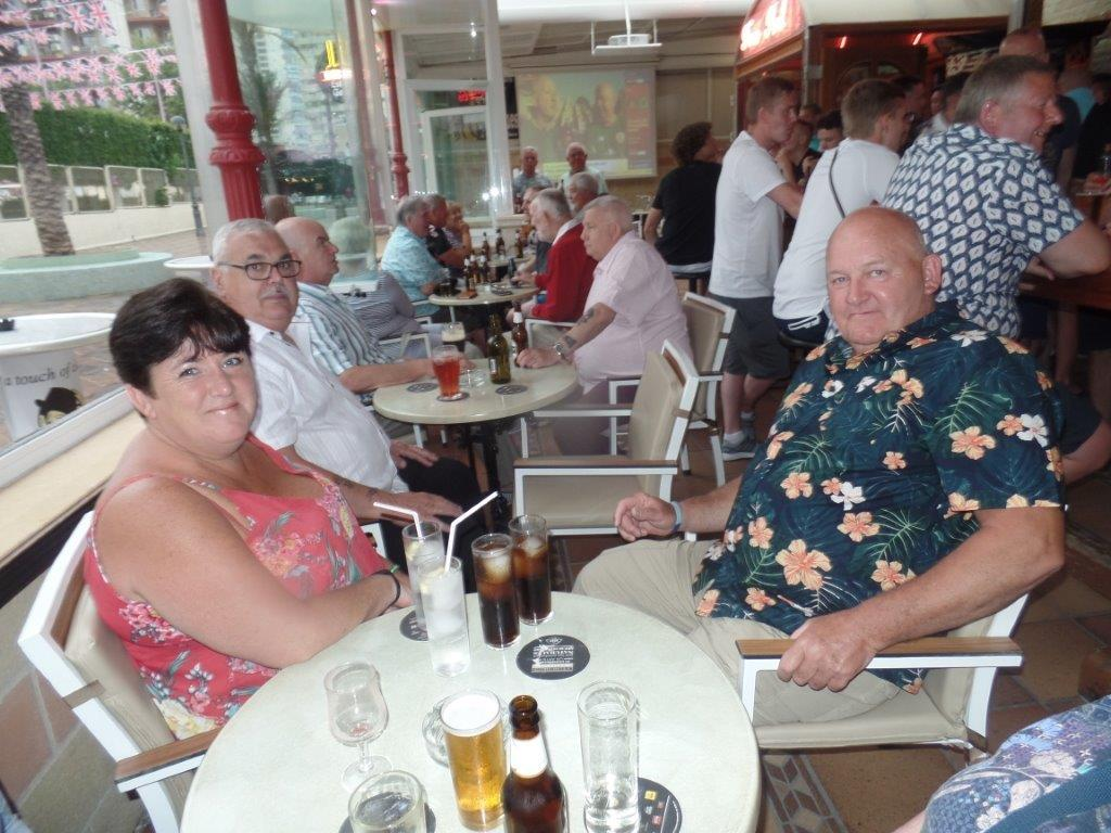 Green Howards Benidorm.Fun In The Sun.Mon 28th Mon 4th June 2018 014