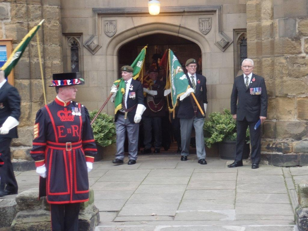 Kenny McGraths Funeral.Guisbrough Priory Wed 1st Nov 2017 097