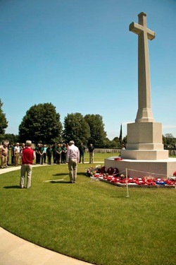 Day 2 Normandy Bayeaux CWG Cemetery 06