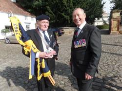 Commemoration To Honour Captain Archie White VC.Boroughbridge 121