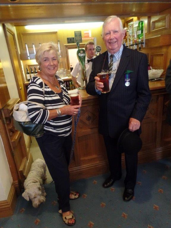 Commemoration To Honour Captain Archie White VC.Boroughbridge 142