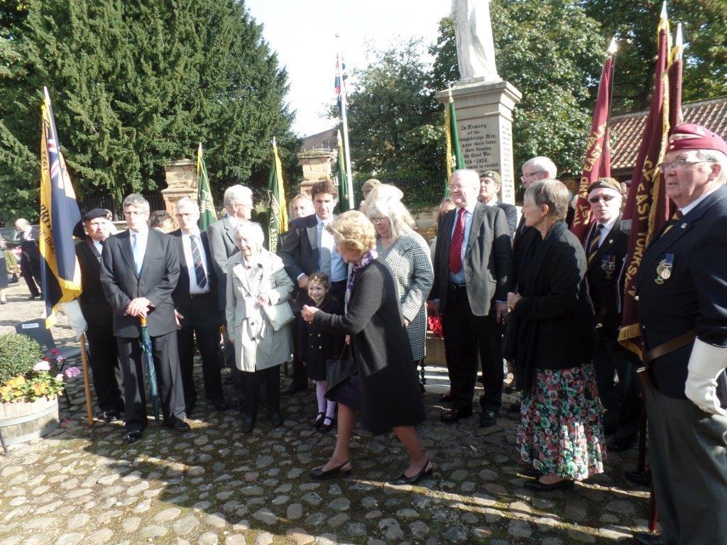 Commemoration To Honour Captain Archie White VC.Boroughbridge 098