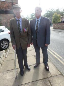 Commemoration To Honour Captain Archie White VC.Boroughbridge 044