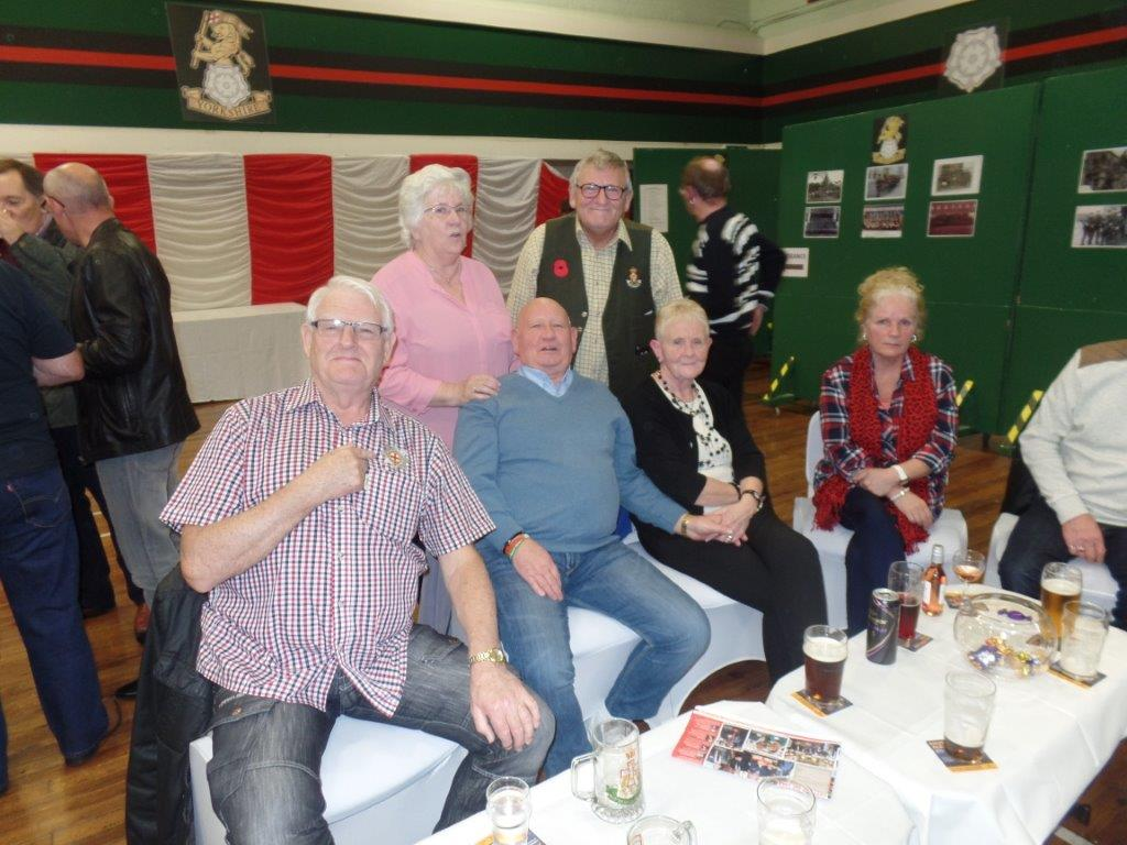 Green Howards Reunion.T.A Centre Stockton Rd.Fri 14th Oct 071