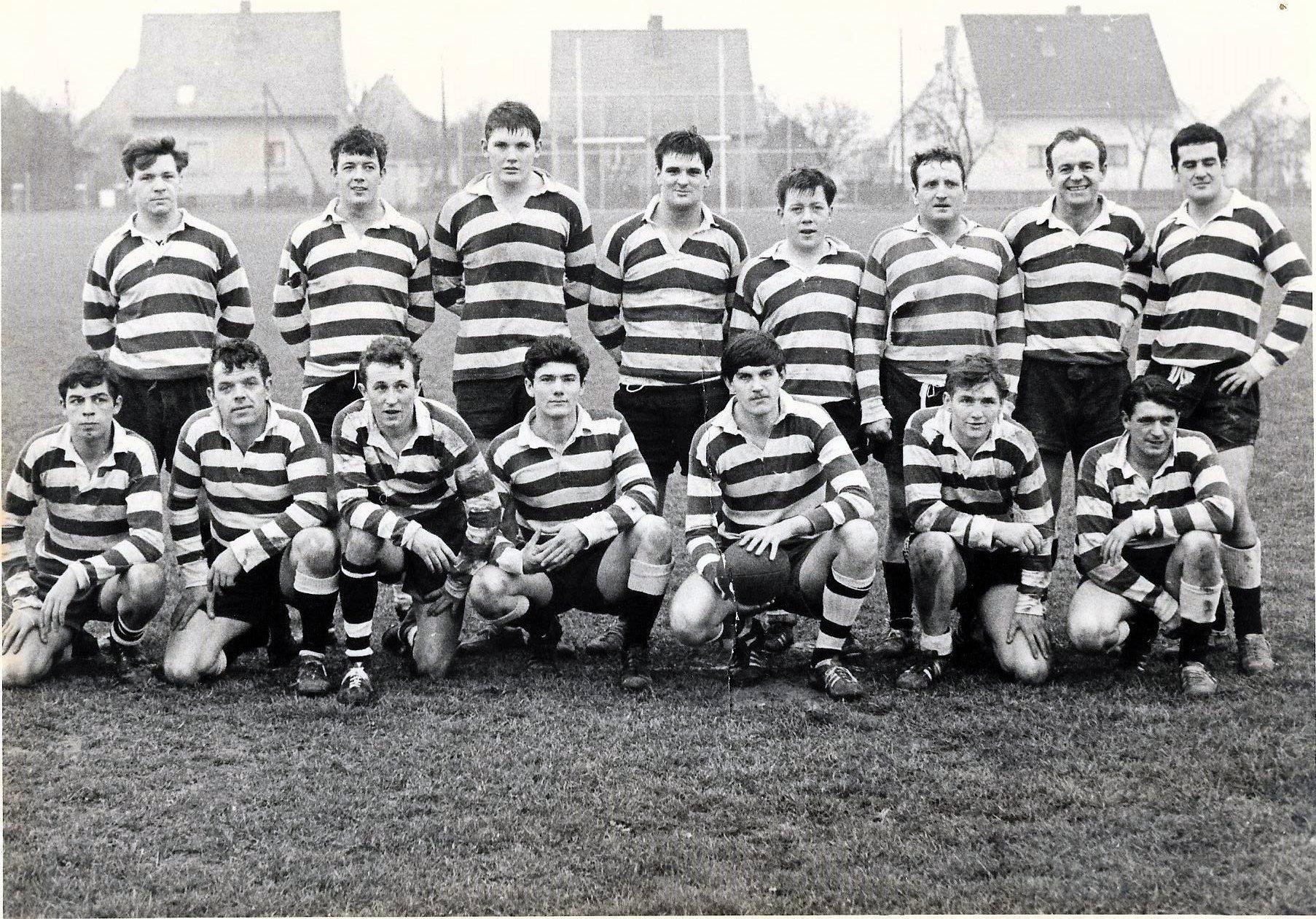 08 - B Coy rugby Minden 1971