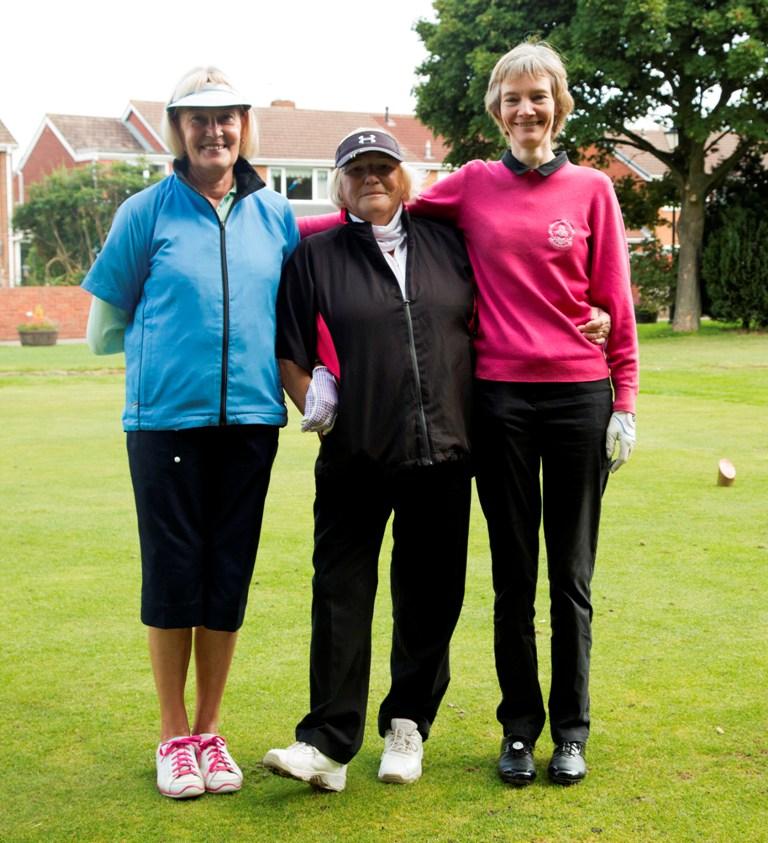 Ladies Section, L-R Joy Biggin, Sue Hodgson and Allison Stanwix