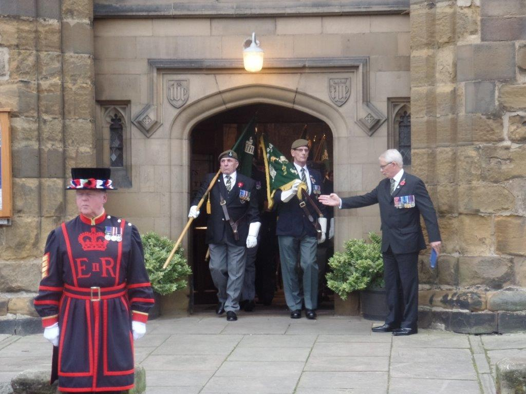 Kenny McGraths Funeral.Guisbrough Priory Wed 1st Nov 2017 094